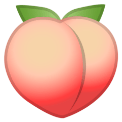 Peach Emoji on Google Android and Chromebooks