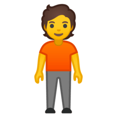 Person Standing Emoji on Google Android and Chromebooks