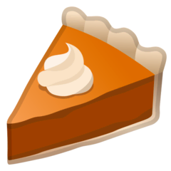Pie Emoji on Google Android and Chromebooks