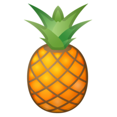 Pineapple Emoji on Google Android and Chromebooks