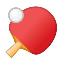 Ping Pong Emoji on Google Android and Chromebooks