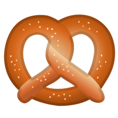 Pretzel Emoji on Google Android and Chromebooks