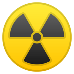 Radioactive Emoji on Google Android and Chromebooks