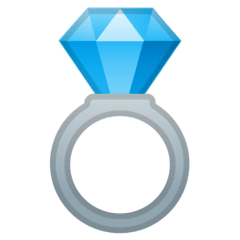 Ring Emoji on Google Android and Chromebooks
