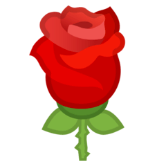 Rose Emoji on Google Android and Chromebooks
