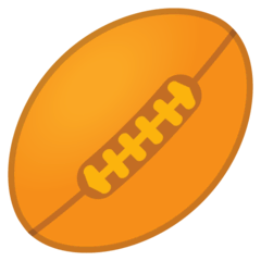 Rugby Football Emoji on Google Android and Chromebooks