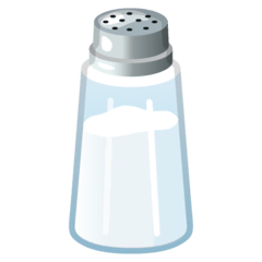 Salt Emoji on Google Android and Chromebooks
