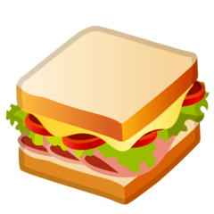 Sandwich Emoji on Google Android and Chromebooks