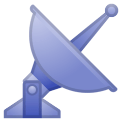 Satellite Antenna Emoji on Google Android and Chromebooks