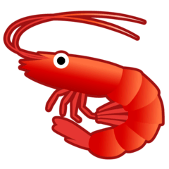 Shrimp Emoji on Google Android and Chromebooks