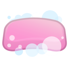Soap Emoji on Google Android and Chromebooks