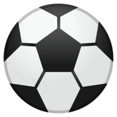 Soccer Ball Emoji on Google Android and Chromebooks