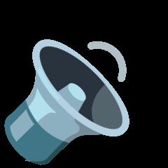 Speaker Medium Volume Emoji on Google Android and Chromebooks