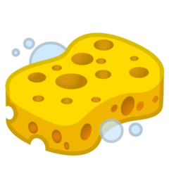 Sponge Emoji on Google Android and Chromebooks