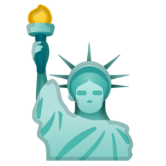 Statue of Liberty Emoji on Google Android and Chromebooks
