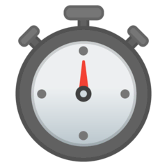Stopwatch Emoji on Google Android and Chromebooks