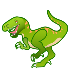 T-Rex Emoji on Google Android and Chromebooks