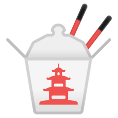 Takeout Box Emoji on Google Android and Chromebooks