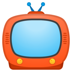Television Emoji on Google Android and Chromebooks