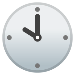 Ten O'clock Emoji on Google Android and Chromebooks