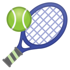 Tennis Emoji on Google Android and Chromebooks