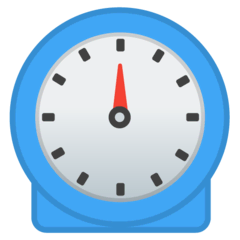 Timer Clock Emoji on Google Android and Chromebooks