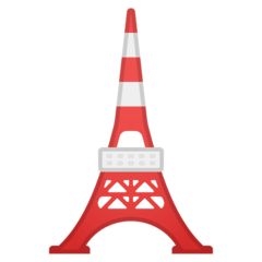 Tokyo Tower Emoji on Google Android and Chromebooks