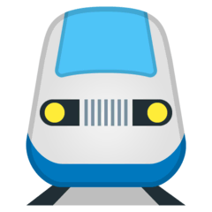 Train Emoji on Google Android and Chromebooks