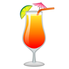 Tropical Drink Emoji on Google Android and Chromebooks