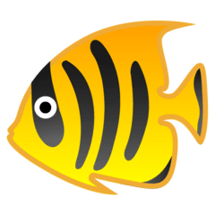 Tropical Fish Emoji on Google Android and Chromebooks