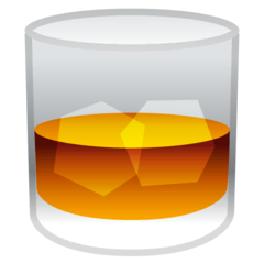 Tumbler Glass Emoji on Google Android and Chromebooks