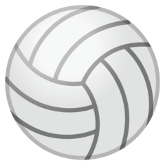 Volleyball Emoji on Google Android and Chromebooks