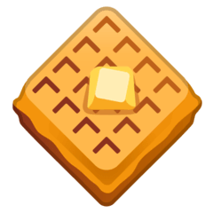 Waffle Emoji on Google Android and Chromebooks