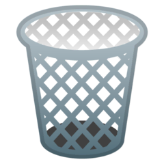 Wastebasket Emoji on Google Android and Chromebooks