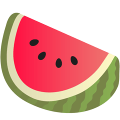 Watermelon Emoji on Google Android and Chromebooks