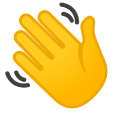 Waving Hand Emoji on Google Android and Chromebooks