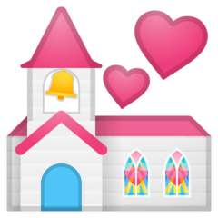 Wedding Emoji on Google Android and Chromebooks