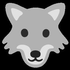 Wolf Emoji on Google Android and Chromebooks