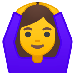 Woman Gesturing OK Emoji on Google Android and Chromebooks