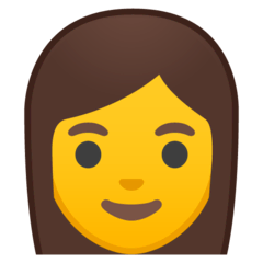 Woman Emoji on Google Android and Chromebooks