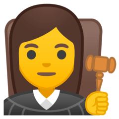 ️Woman Judge Emoji on Google Android and Chromebooks