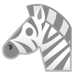 Zebra Emoji on Google Android and Chromebooks