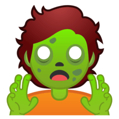 Zombie Emoji on Google Android and Chromebooks