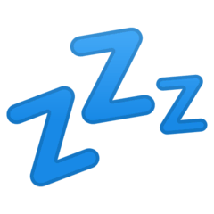 Zzz Emoji on Google Android and Chromebooks