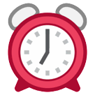 Alarm Clock Emoji on HTC Phones