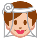Person With Veil Emoji on HTC Phones