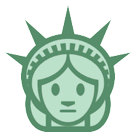 Statue of Liberty Emoji on HTC Phones
