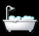 Bathtub Emoji on LG Phones