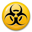 Biohazard Emoji on LG Phones