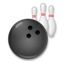 Bowling Emoji on LG Phones